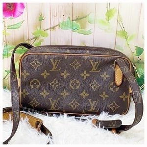 Authentic Louis Vuitton Monogram Marly Badouliere